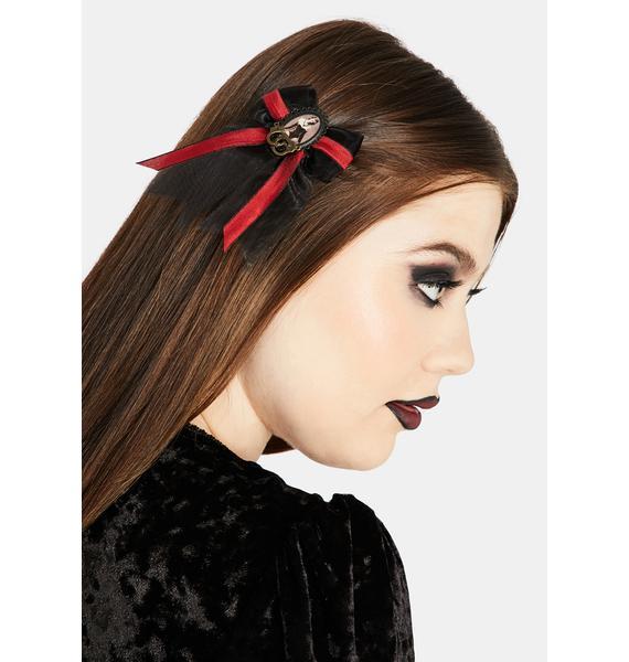 Se7en Deadly Dominatrix Hair Bow