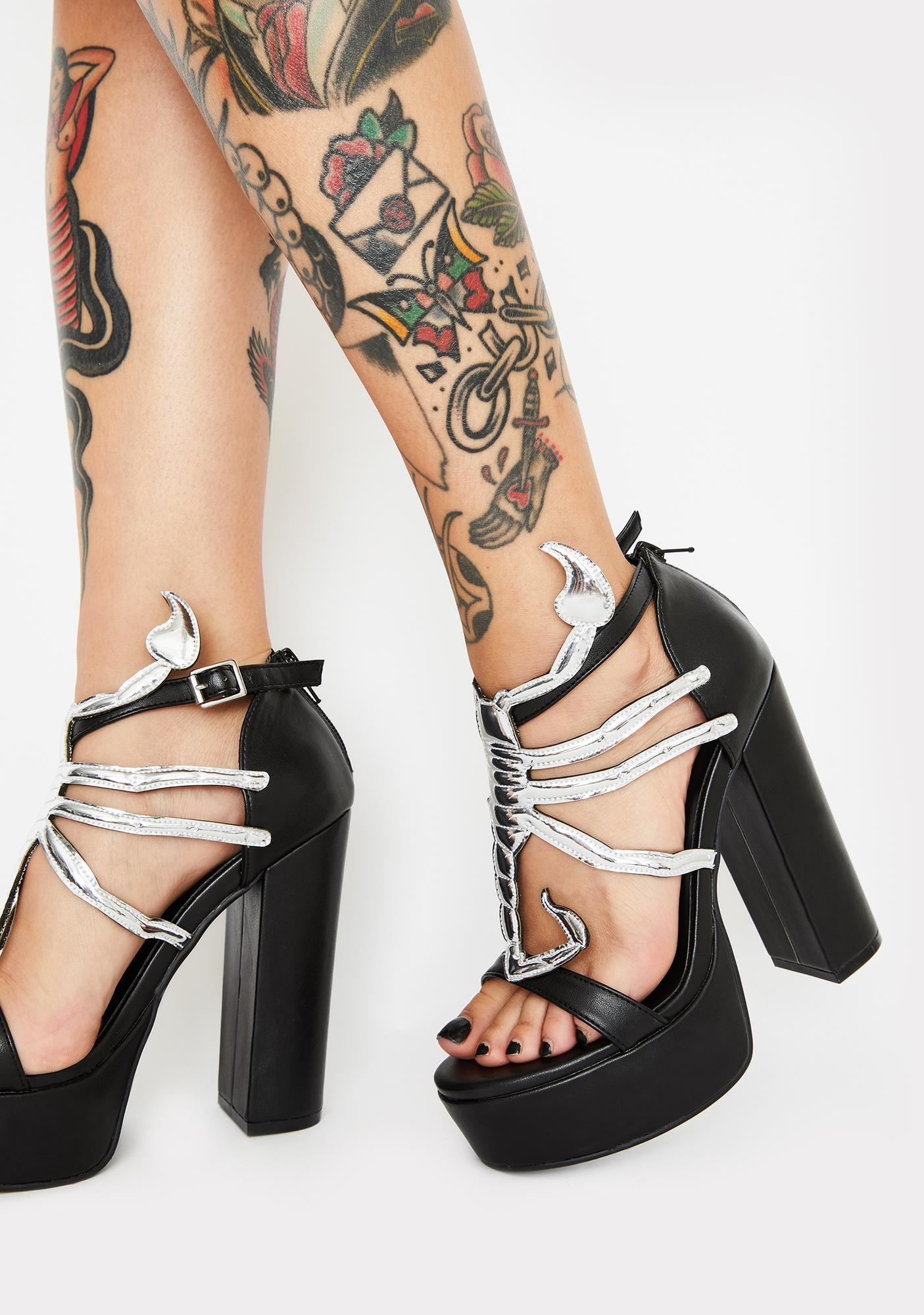HOROSCOPEZ Nice For Wut Platform Heels