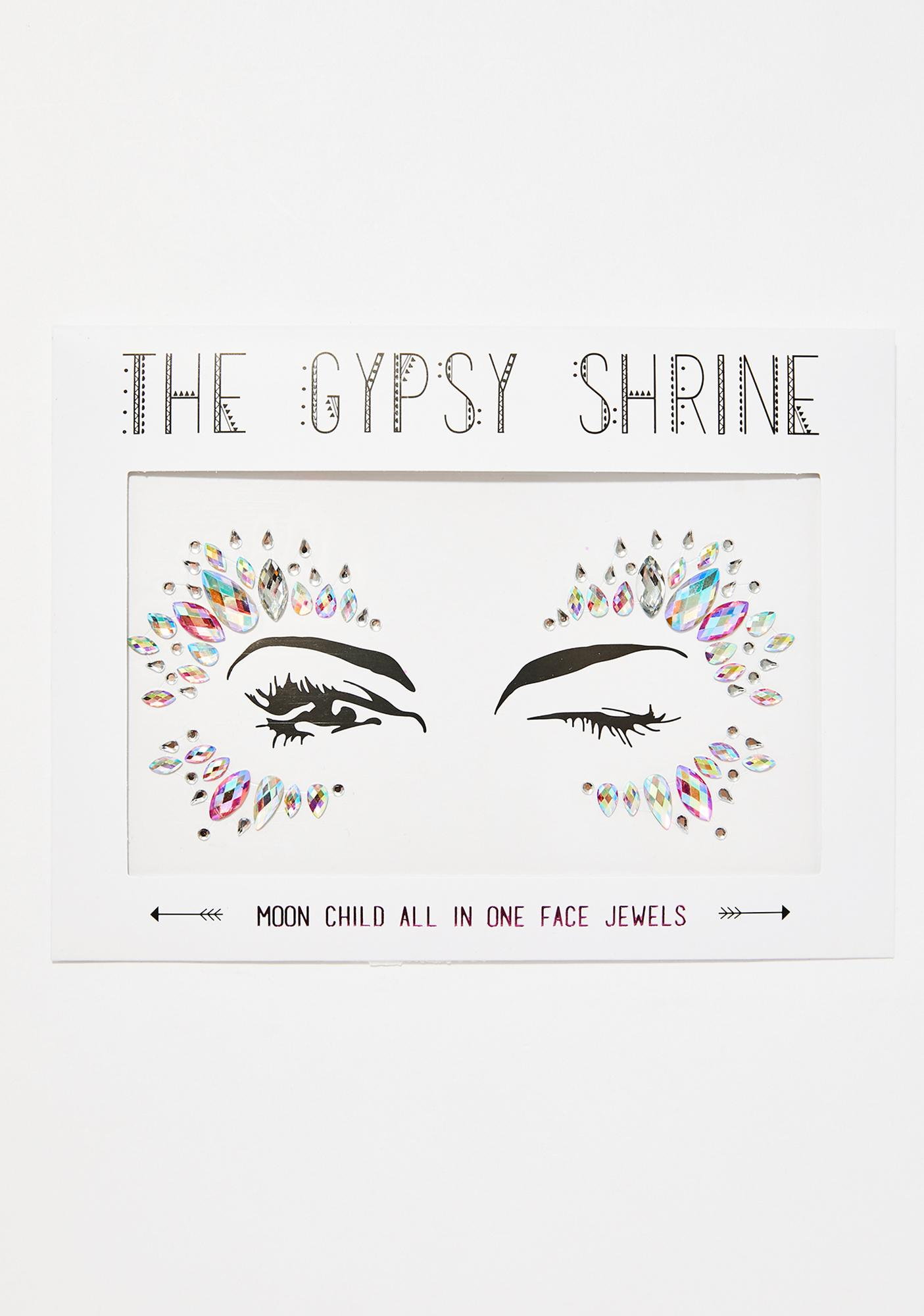 The Gypsy Shrine Moon Child Face Jewel