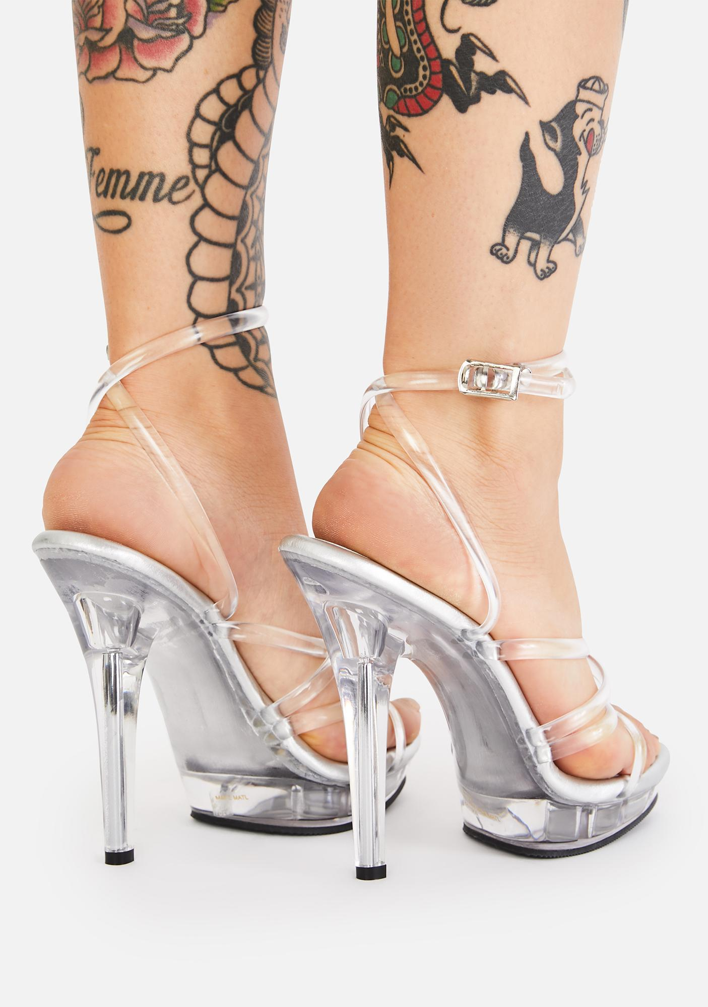 Fabulicious Lip Clear Heels