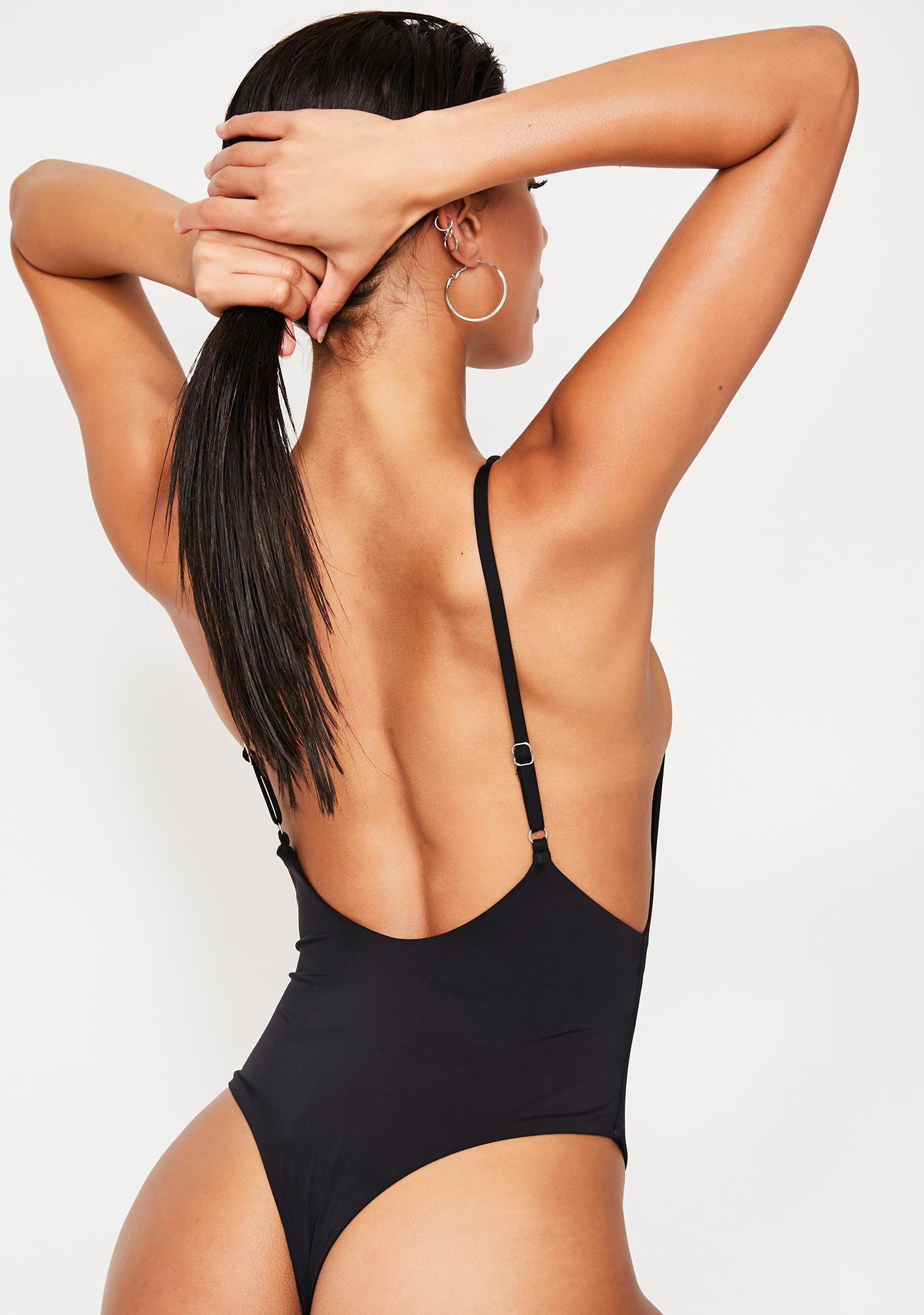 6efa878356d9 Dippin' Daisy's Low Back Thong One Piece Bikini | Dolls Kill
