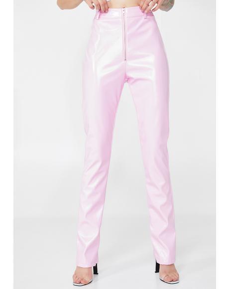 Pixie Nixie PU Pants