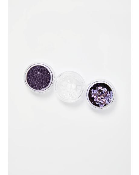 Violet Bio Glitter Kit