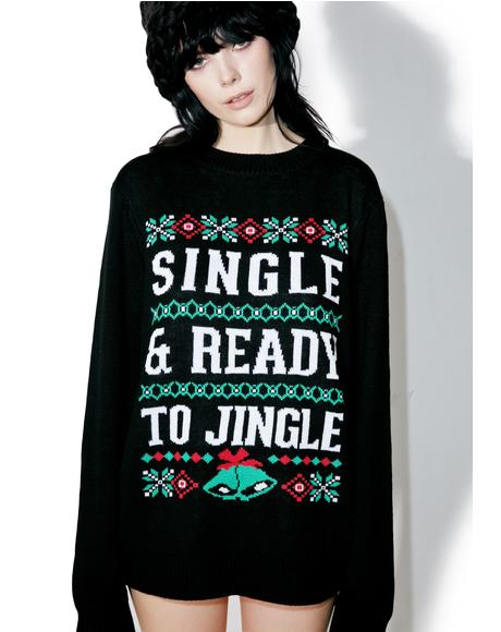 Ready To Jingle Sweater