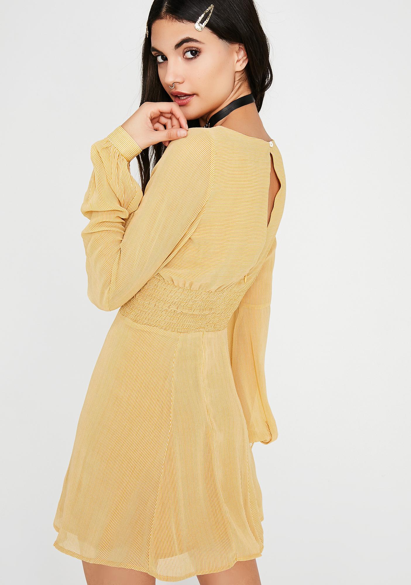 Always Sunny Striped Dress