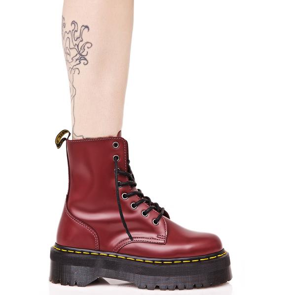 Dr. Martens Jadon In Cherry Red