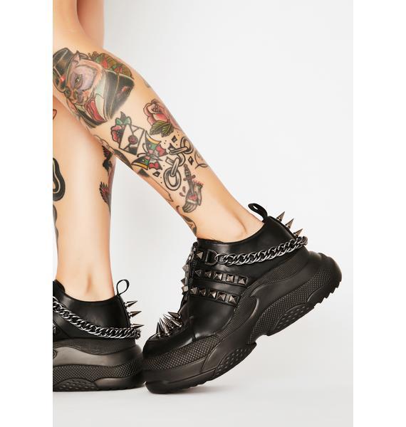 Lamoda Watch Out Platform Sneakers