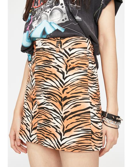 Beast Mode Tiger Skirt