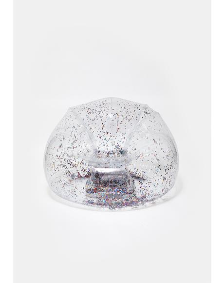 Glitter Frenzy Inflatable Chair