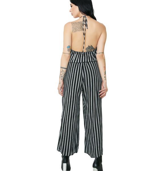 Stripe Me Wide Leg Jumpsuit