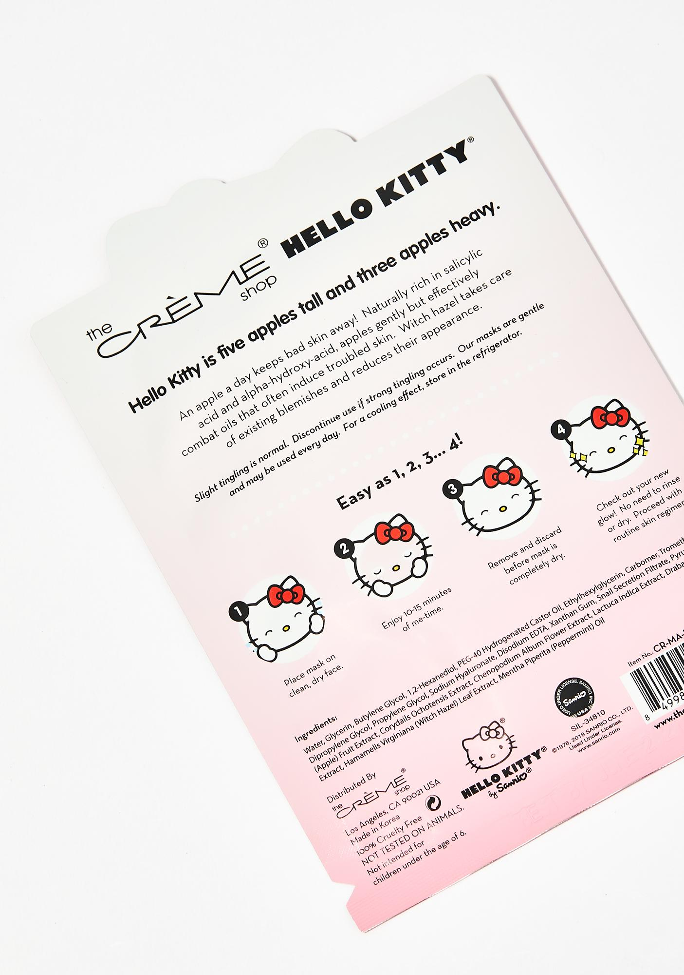 The Crème Shop Problem Solver Hello Kitty Mask