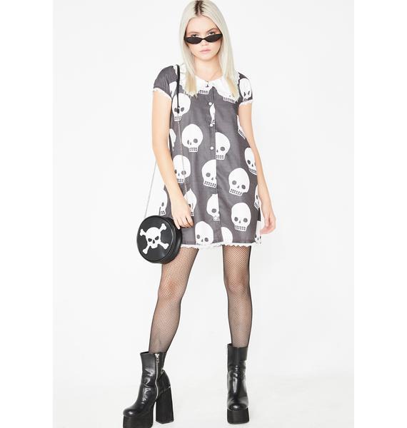 Fearless Illustration Blair Button Down Bambi Dress