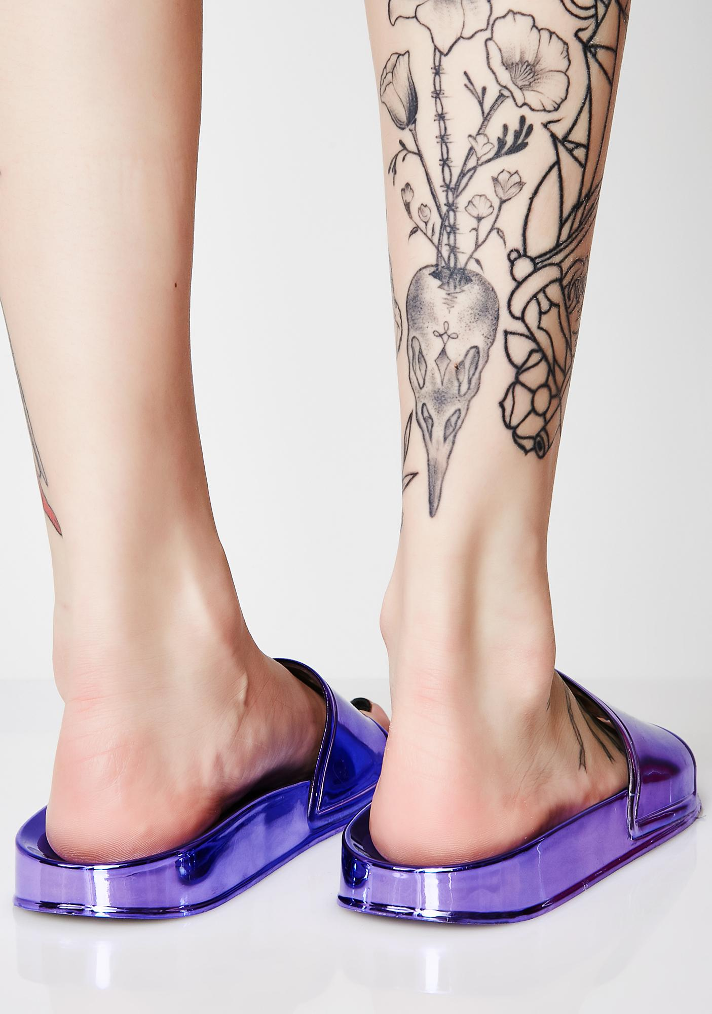 Violet Shining Bright Slides