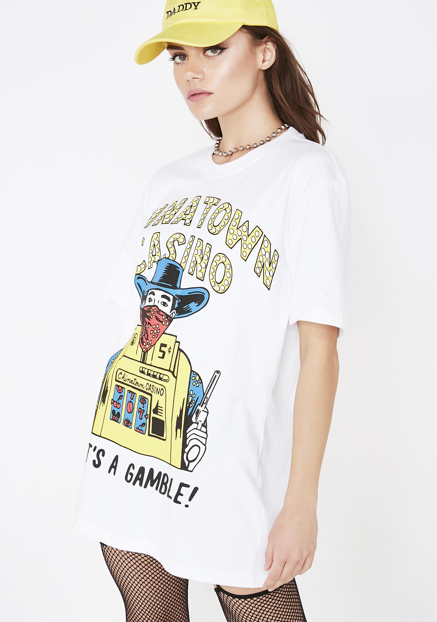 CHINATOWN MARKET Casino T-Shirt