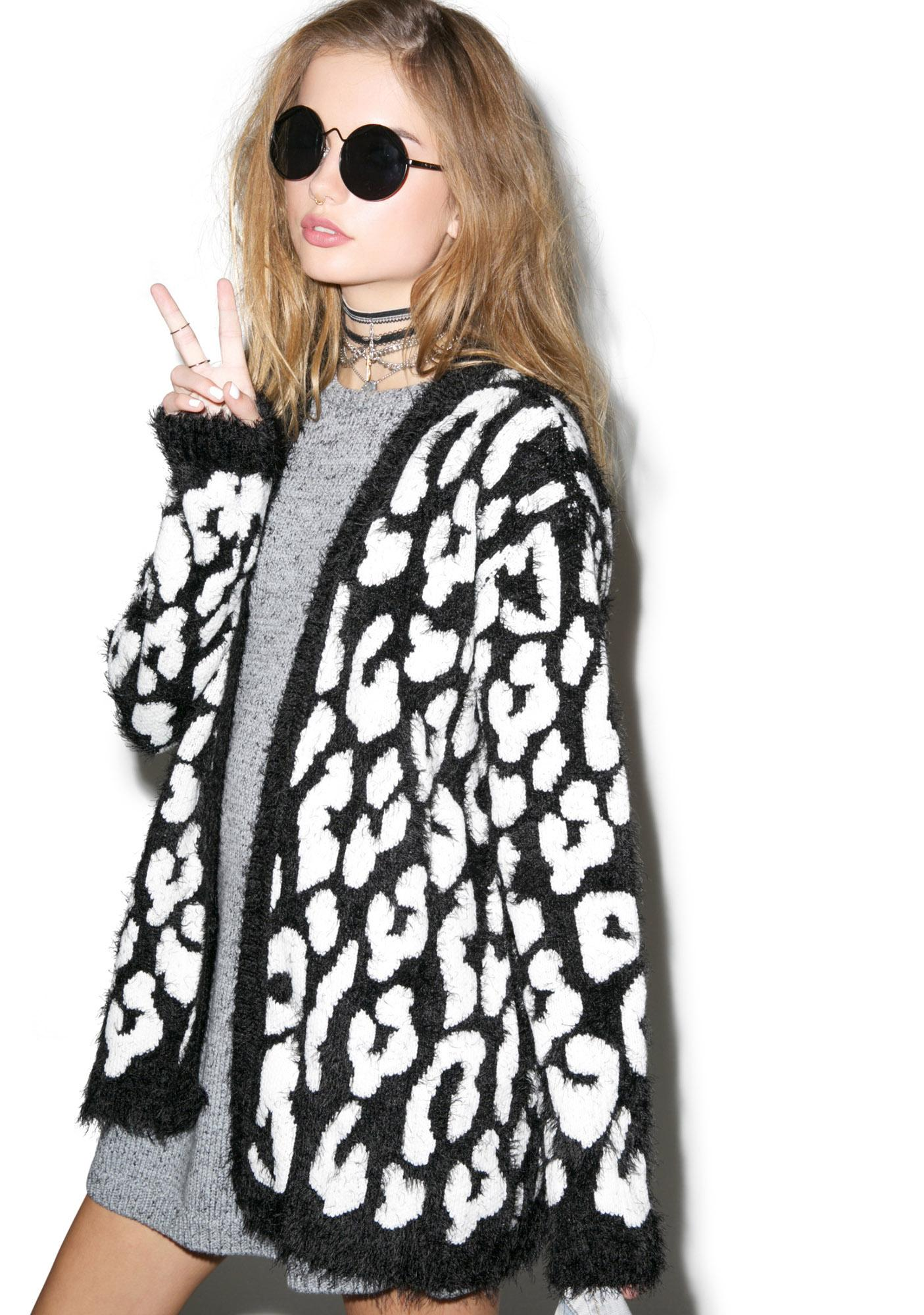 Evil Twin Captivity Longline Cardigan