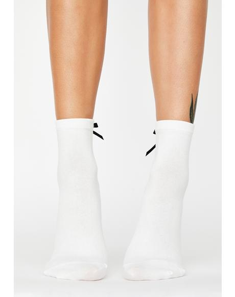 Delicate Balance Ankle Socks