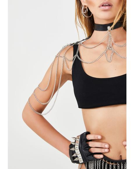Miss Gladiator Chain Harness