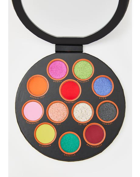 X Kesha Rose FTW Eyeshadow Palette