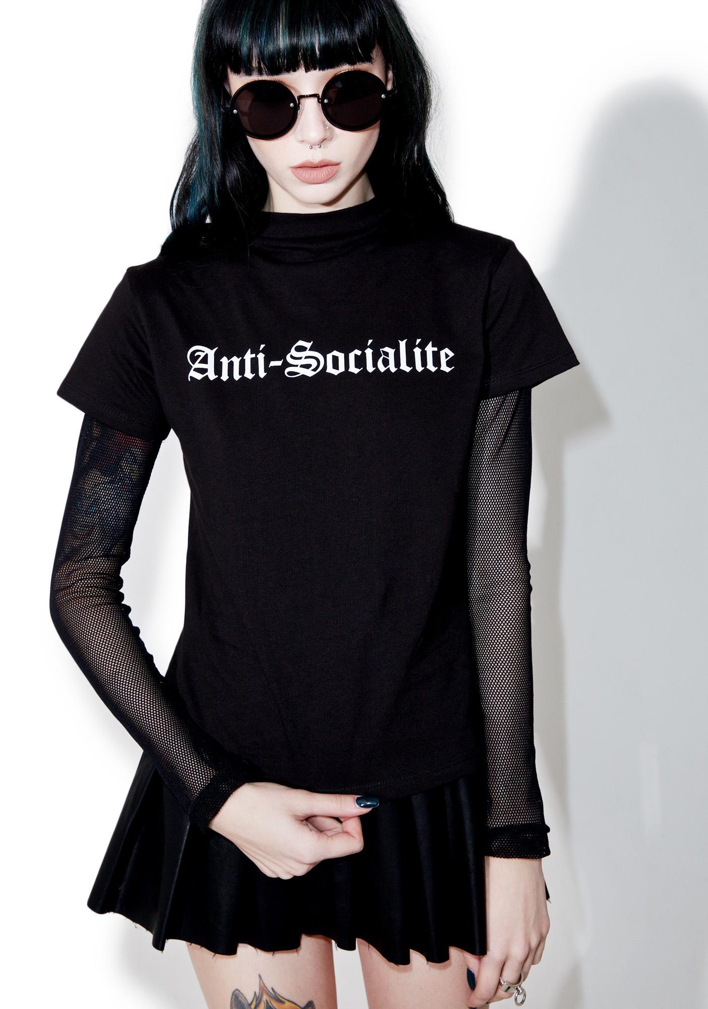 Disturbia Anti-Socialite Top