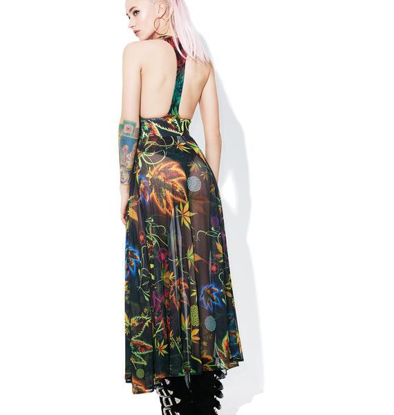 Reefer Madness Sheer Skirt