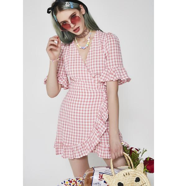 Girly Attitude Gingham Dress