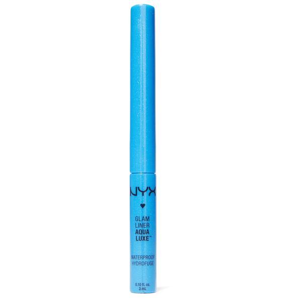 NYX Azure Aqua Luxe Glam Liner