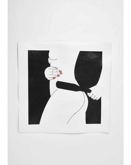 Spank Art Print