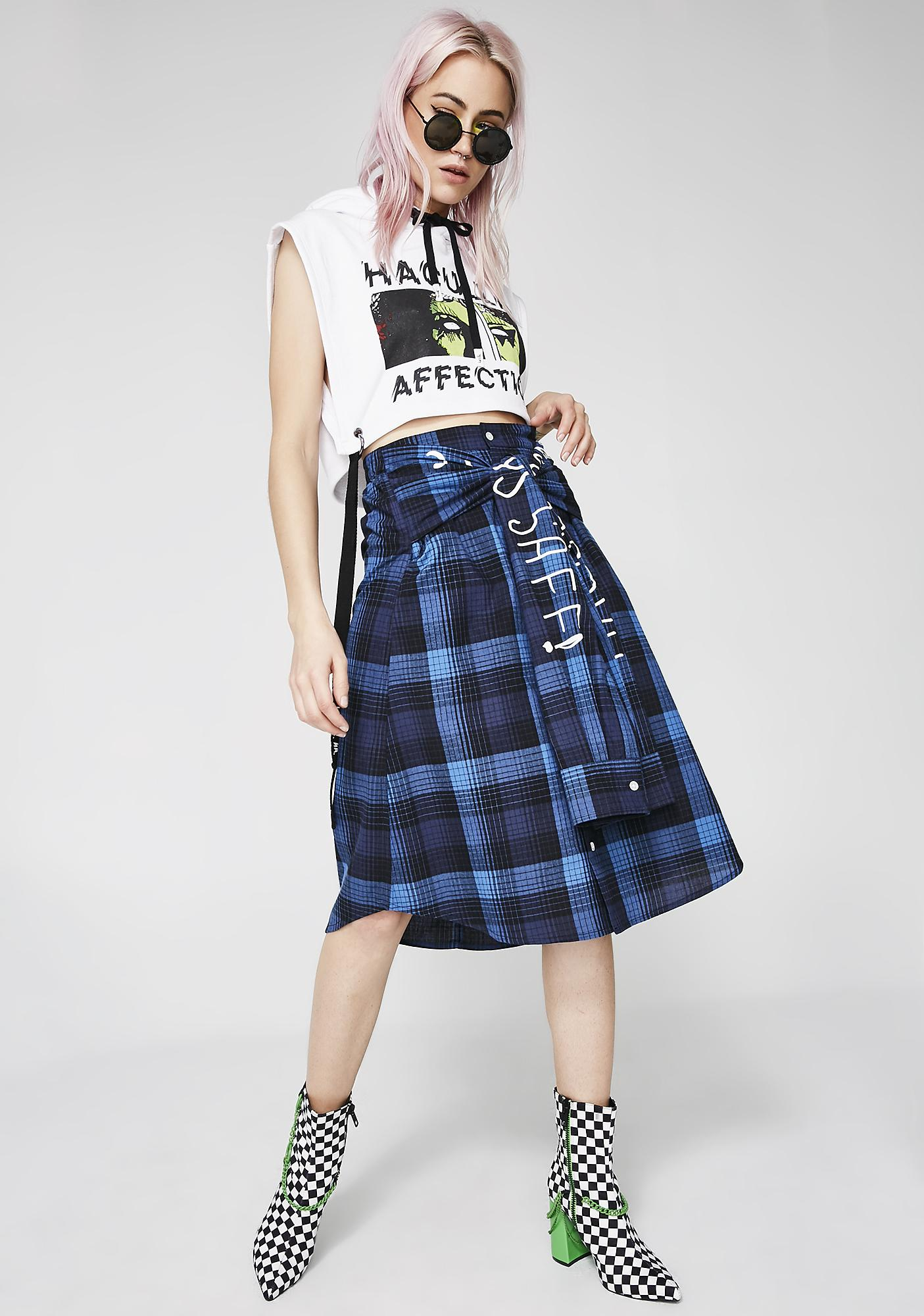 Haculla Street Art Shirt Skirt