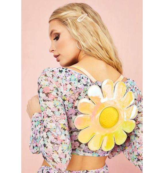 Sugar Thrillz Blissful Bloom Iridescent Backpack
