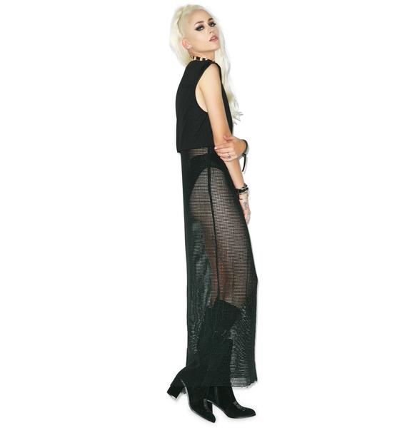One Teaspoon Falling Feather Maxi Dress
