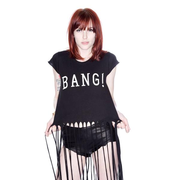 Wildfox Couture Bang Fringe Tee