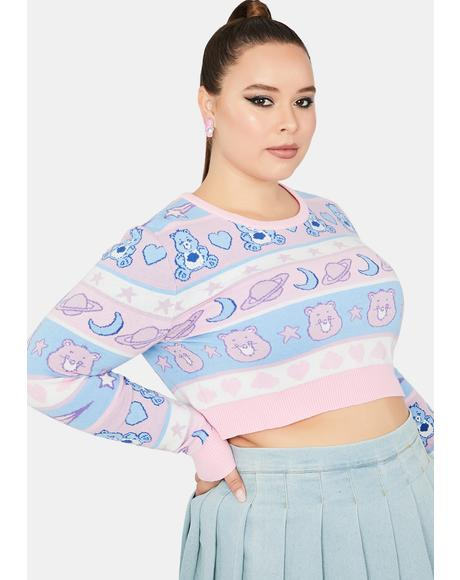 Always Snuggle Me Softly Cropped Sweater