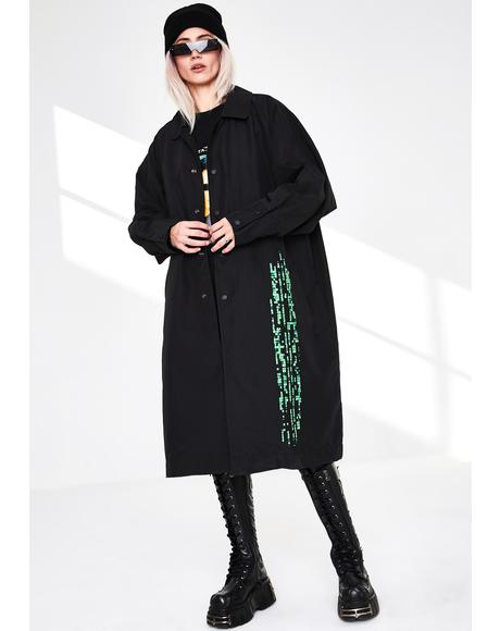 Matrix Trench Coat