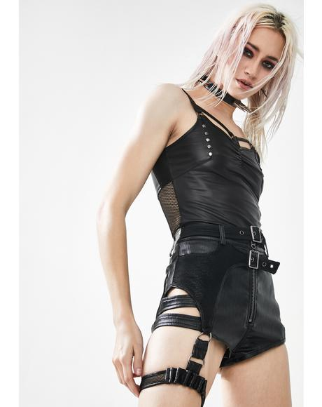 Hardcore Punk Studded Tank Top