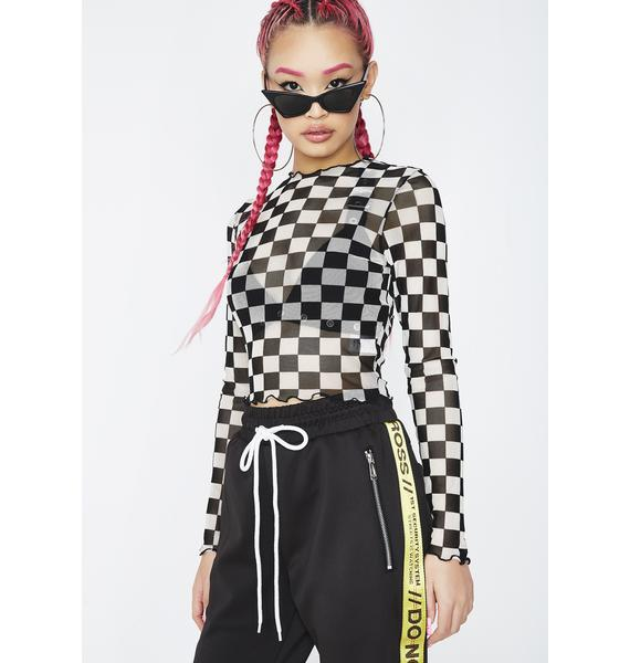 Need For Speed Checkered Top