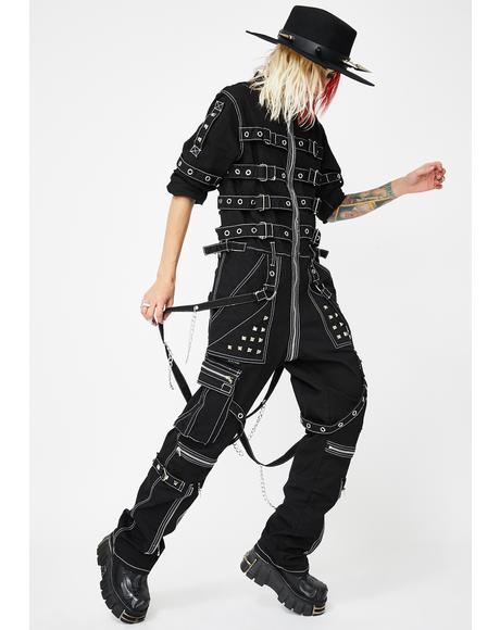 Chain And Strap Jumpsuit