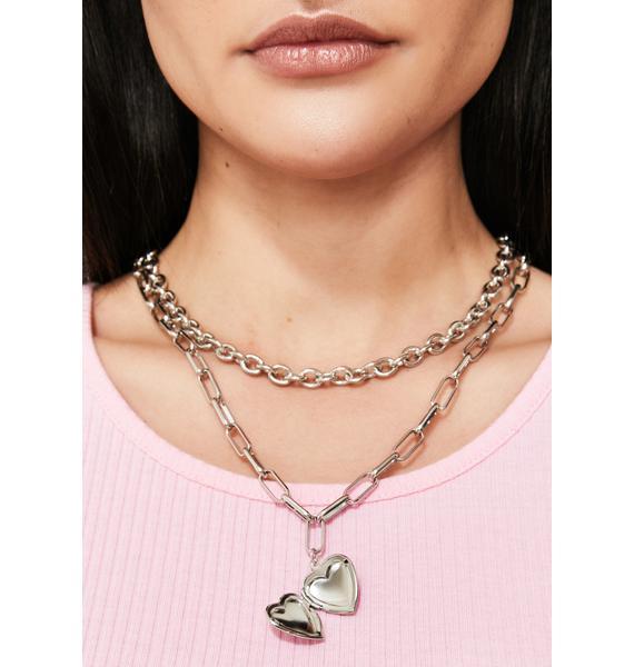Ever After Locket Necklace