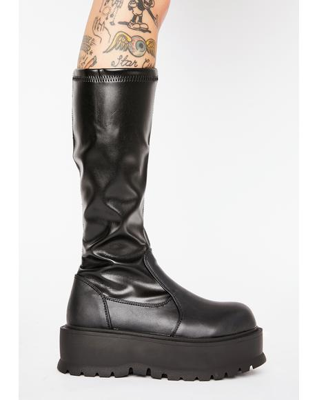 Slacker Knee High Boots
