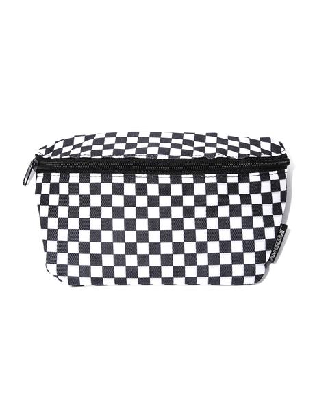 Raceway Checkered Fanny Pack