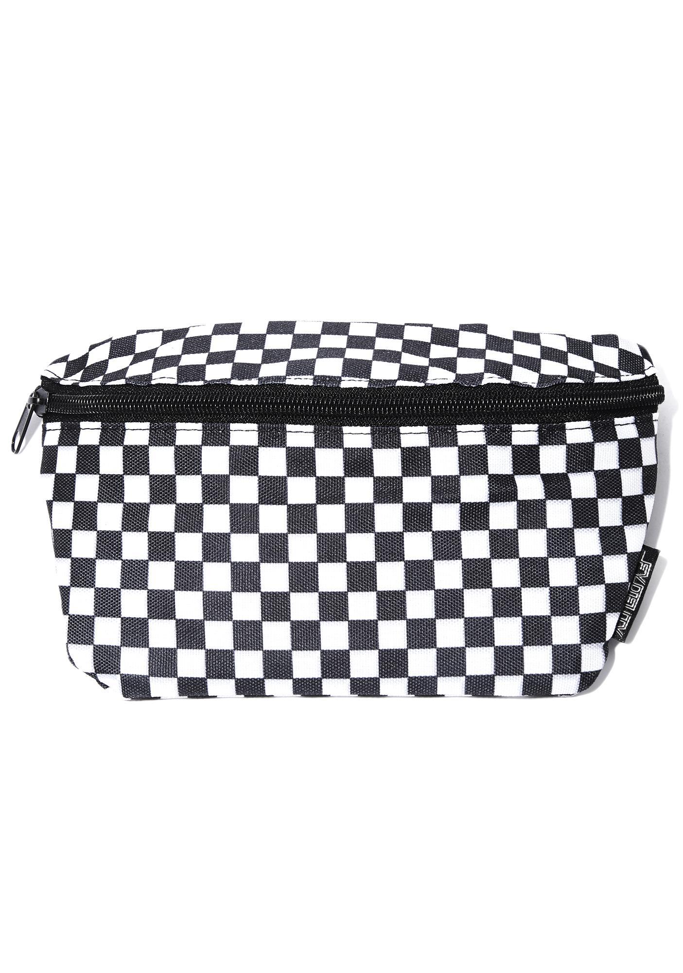 Raceway Checkered Fanny Pack