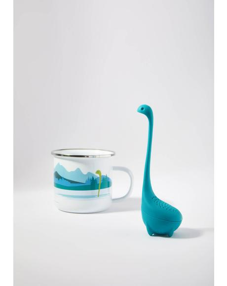 Cup Of Nessie Tea Infuser And Cup Set