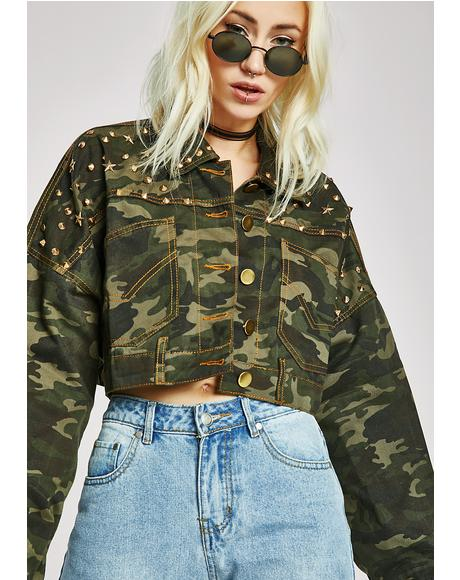 Right Left Camo Jacket