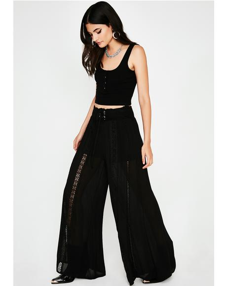 Feelin' The Vibez Sheer Pants