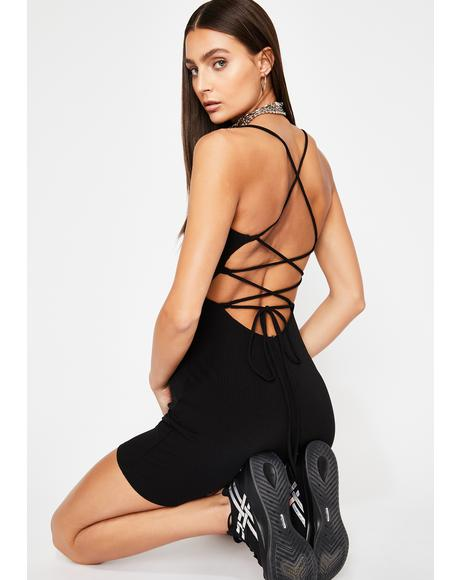 Lunar Flash Equinox Lace Up Romper