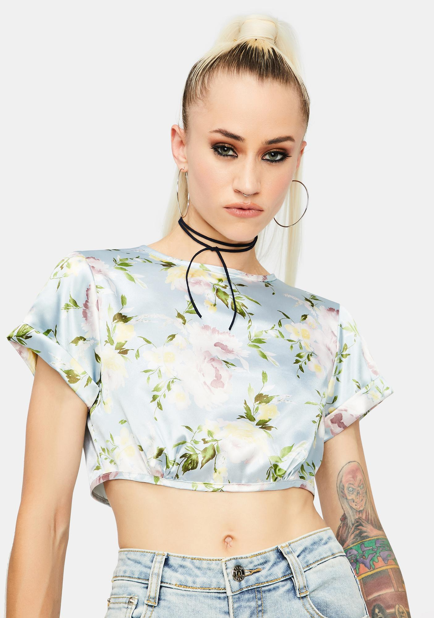 All About Floral Top