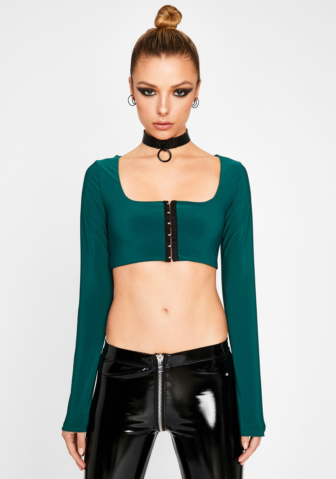 Envy Stay Hooked Crop Top
