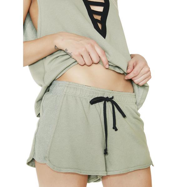 What'cha Want Drawstring Shorts