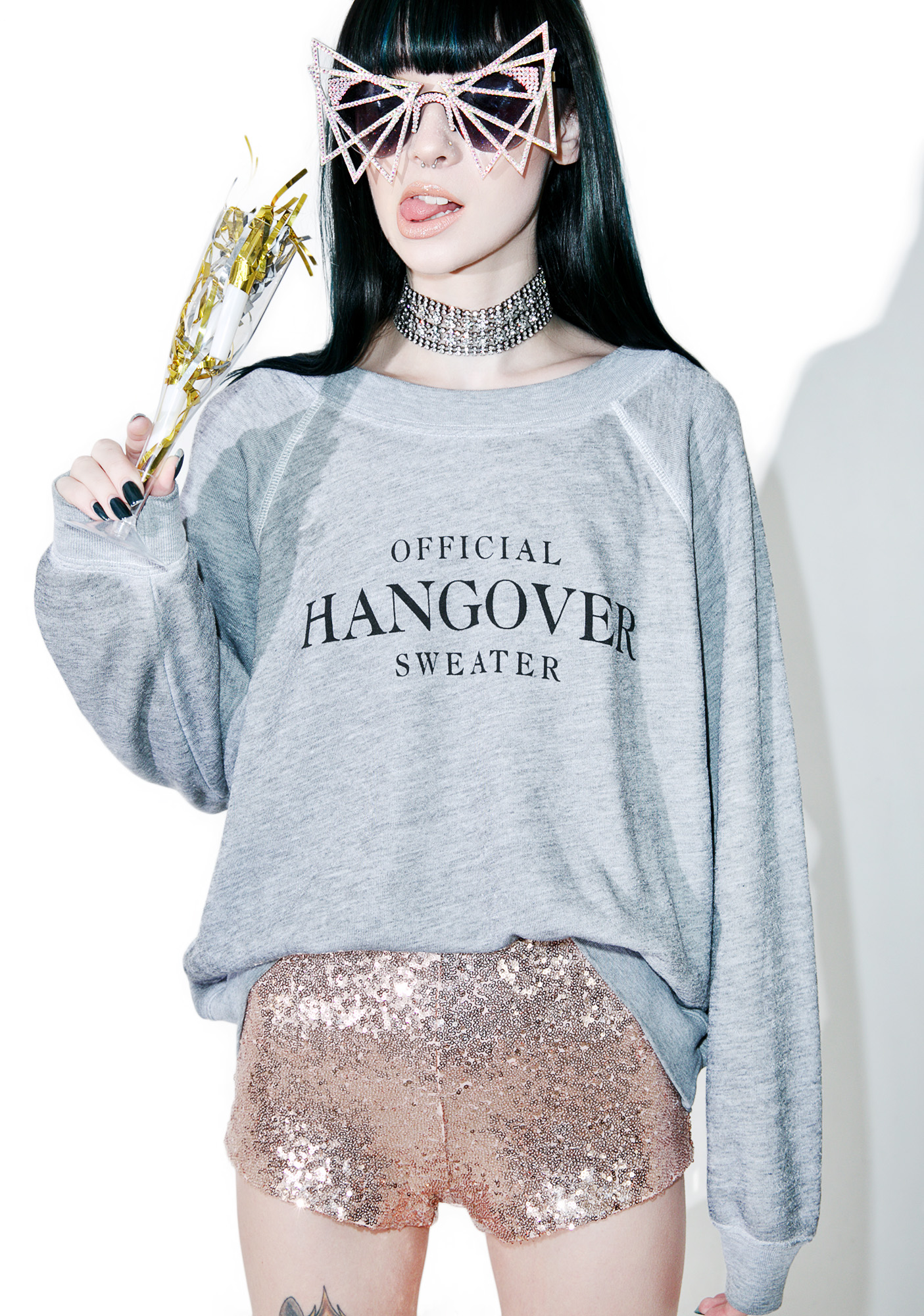 Wildfox Couture Hangover Sommer's Sweater