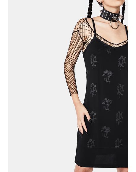 Shadow Slip Dress
