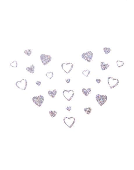 Heart Glitter Freckles